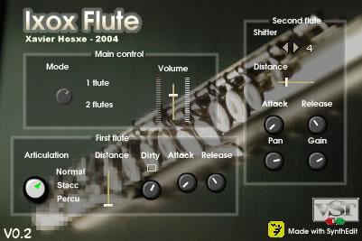 فلوت احترافي Ixoxflute